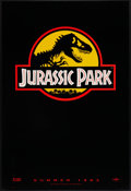 "Movie Posters:Science Fiction, Jurassic Park (Universal, 1993). One Sheet (26.75"" X 39.5""). SSAdvance. Science Fiction.. ..."