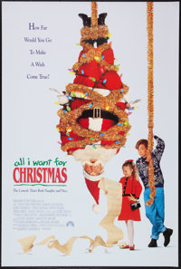 all i want for christmas paramount 1991 one sheet 27 - All I Want For Christmas 1991