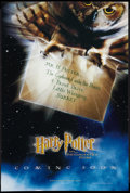 """Movie Posters:Fantasy, Harry Potter and the Philosopher's Stone (Warner Brothers, 2001).British Poster (10.75"""" X 16"""") Advance. Fantasy. Alternate ..."""
