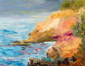 Paintings, RITA HOFFMAN SHULAK (American, 20th Century). Ultramarine Sky Reflection on Laguna Beach. Oil on canvas . 11 x 14 inches...
