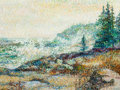 Paintings, RITA HOFFMAN SHULAK (American, 20th Century). Northern California Coast. Oil on canvas board. 9 x 12 inches (22.9 x 30.5...