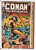 Bronze Age (1970-1979):Miscellaneous, Conan the Barbarian Bound Volumes (Marvel, 1970-78).... (Total: 5Items)