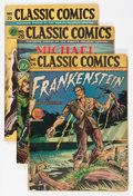 Golden Age (1938-1955):Classics Illustrated, Classic Comics Group (Gilberton, 1940s) Condition: Average GD.... (Total: 8 Comic Books)