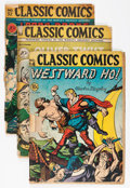 Golden Age (1938-1955):Classics Illustrated, Classic Comics Group (Gilberton, 1940s) Condition: Average FR.... (Total: 4 Comic Books)