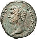 Ancients:Judaea, Ancients: Hadrian (117 - 138 AD). AE as (25mm, 13.25 gm, 12h). ...