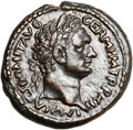 Ancients:Judaea, Ancients: Domitian (AD 81 - 96). AE (24mm, 16.19 gm, 1h). ...