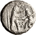 Ancients:Judaea, Ancients: Samaria (late 4th century BC). AR quarter-shekel (16mm, 3.53 gm, 6h). ...