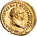 Ancients:Judaea, Ancients: Titus (AD 79 - 81). AU aureus (19mm, 7.30 gm, 6h). ...