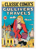 Golden Age (1938-1955):Classics Illustrated, Classic Comics #16 Gulliver's Travels - First Edition (Gilberton,1943) Condition: FN-....