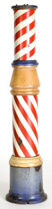 Other:American, AN ELECTRIC BARBER POLE . 20th century . 72 inches high (182.9 cm)....