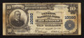 National Bank Notes:Virginia, Richmond, VA - $10 1902 Plain Back Fr. 628 The Central NB Ch. #10080. ...