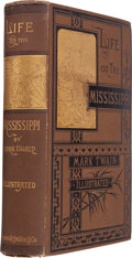Books:Literature Pre-1900, Mark Twain. Life on the Mississippi. Boston: James R. Osgoodand Company, 1883. First edition, second state. Oct...