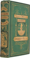 Books:Literature Pre-1900, Jules Verne. Twenty Thousand Leagues Under the Seas; The Marvelous and Exciting Adventures of Pierre Aronnax, Conseil Hi...