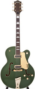 Musical Instruments:Electric Guitars, 1956 Gretsch Model 6196 Country Club Cadillac Green ArchtopElectric Guitar, Serial # 16890....