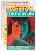 Magazines:Miscellaneous, Assorted Mystery and Detective Magazines Group (Various, 1930-43)Condition: Average VG.... (Total: 21 Items)