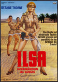"Movie Posters:Exploitation, Ilsa, Harem Keeper of the Oil Sheiks (Avis Film, 1977). German A1(23.25"" X 33""). Exploitation.. ..."