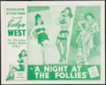 "Movie Posters:Sexploitation, A Night at the Follies (Roadshow Attractions, 1947). Lobby Card(11"" X 14""). Sexploitation.. ..."