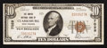 National Bank Notes:West Virginia, Clarksburg, WV - $10 1929 Ty. 1 The Empire NB Ch. # 7029. ...