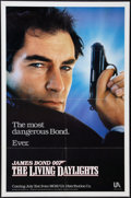 "Movie Posters:James Bond, The Living Daylights (United Artists, 1986). One Sheet (27"" X 41"")Advance. James Bond.. ..."