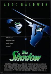 "The Shadow (Universal, 1994). One Sheet (26.75"" X 40""). Adventure"