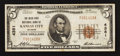 National Bank Notes:Missouri, Kansas City, MO - $5 1929 Ty. 1 The Inter-State NB Ch. # 4381. ...