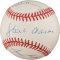 Baseball Collectibles:Balls, Players Who Have 3000 Hits and 500 HR's Multi Signed Baseball....