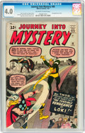 Silver Age (1956-1969):Superhero, Journey Into Mystery #88 (Marvel, 1963) CGC VG 4.0 Off-white towhite pages....