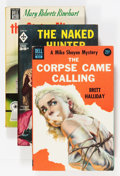 Books:Vintage Paperbacks, Vintage Hardboiled Paperback Group With Classic Covers (1940s-1960).. ... (Total: 4 Items)