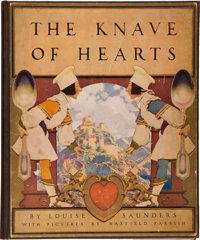 [Maxfield Parrish, illustrator]. Louise Saunders. The Knave of Hearts. With Pictures