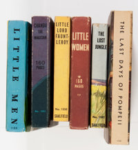 Big Little Book Group (Whitman, 1930s) Condition: Average VF.... (Total: 6 Comic Books)