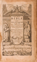 Books:Religion & Theology, The Holy Bible Containing the Old Testament and the New, NewlyTranslated out of the original Tongues and with the formerTr...