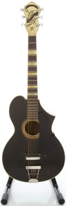 Musical Instruments:Acoustic Guitars, Circa 1929 Epiphone Recording D Refinished Acoustic Guitar, Serial#297....