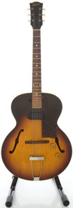 Musical Instruments:Electric Guitars, 1959 Gibson ES 125 T Sunburst Semi-Hollow Body Electric Guitar,Serial #S1777 35....