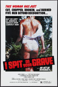 "Movie Posters:Exploitation, I Spit on Your Grave (Jerry Gross, R-1980). One Sheet (27"" X 41""). Exploitation.. ..."