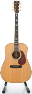 Musical Instruments:Acoustic Guitars, 1993 Martin D-41 Natural Acoustic Guitar, Serial #527660....