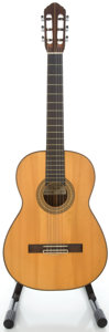 Musical Instruments:Acoustic Guitars, 1967 S.S. Bearder Natural Classical Guitar, Serial #1967A....