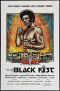 "Movie Posters:Blaxploitation, Bogard (Worldwide Films, R-1977). One Sheet (27"" X 41"").Blaxploitation. Reissue Title: Black Fist. ..."