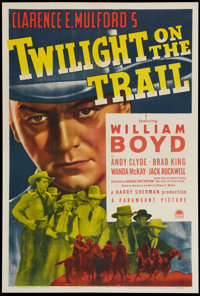 "Twilight on the Trail (Paramount, 1941). One Sheet (27.5"" X 41""). Western"