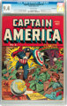 Captain America Comics #2 Billy Wright pedigree (Timely, 1941) CGC NM 9.4 Off-white pages
