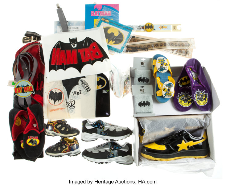 4dd61f4fa89f Batman Clothing and Iron-on Transfer Group (1960s-2000s)....