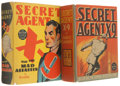 Big Little Book:Miscellaneous, Big Little Book Secret Agent X-9 Group (Whitman, 1936-38)Condition: Average VF.... (Total: 2 Comic Books)