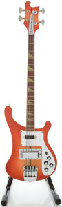 Musical Instruments:Bass Guitars, Early 1980's Rickenbacker 4001 Fireglo Electric Bass Guitar, Serial #5505....