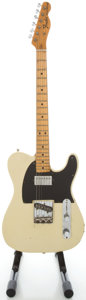 Musical Instruments:Electric Guitars, Early 1970's Fender Telecaster Cream Solid Body Electric Guitar....