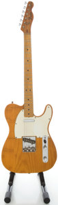 Musical Instruments:Electric Guitars, 1975 Fender Telecaster Natural Solid Body Electric Guitar, Serial#625173....