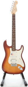Musical Instruments:Electric Guitars, 2005 Fender Lone Star Stratocaster USA Sienna Sunburst Solid Body Electric Guitar, Serial #Z5026314....