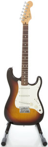 Musical Instruments:Electric Guitars, 1983 Fender Stratocaster USA Sunburst Solid Body Electric Guitar,Serial #E345108....