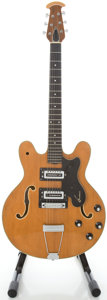 Musical Instruments:Electric Guitars, 1970's Ovation 1321-4 Natural Semi-Hollow Body Electric Guitar,Serial #H536....