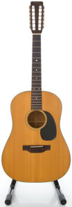 Musical Instruments:Acoustic Guitars, 1969 Martin D-12-20 Natural 12 String Acoustic Guitar, Serial#251693....