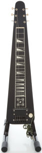 Musical Instruments:Lap Steel Guitars, 1955 Supro Black Lap Steel Guitar, Serial #X45925....
