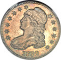 Bust Half Dollars, 1832 50C Small Letters MS66 NGC. O-106, R.1....